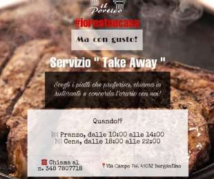 SCARICA IL MENU TAKE AWAY